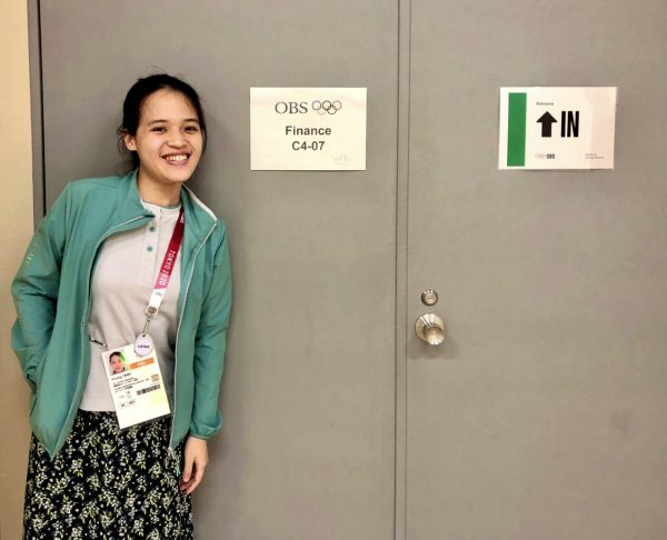Uyen Trinh at the Finance Department for the Olympics