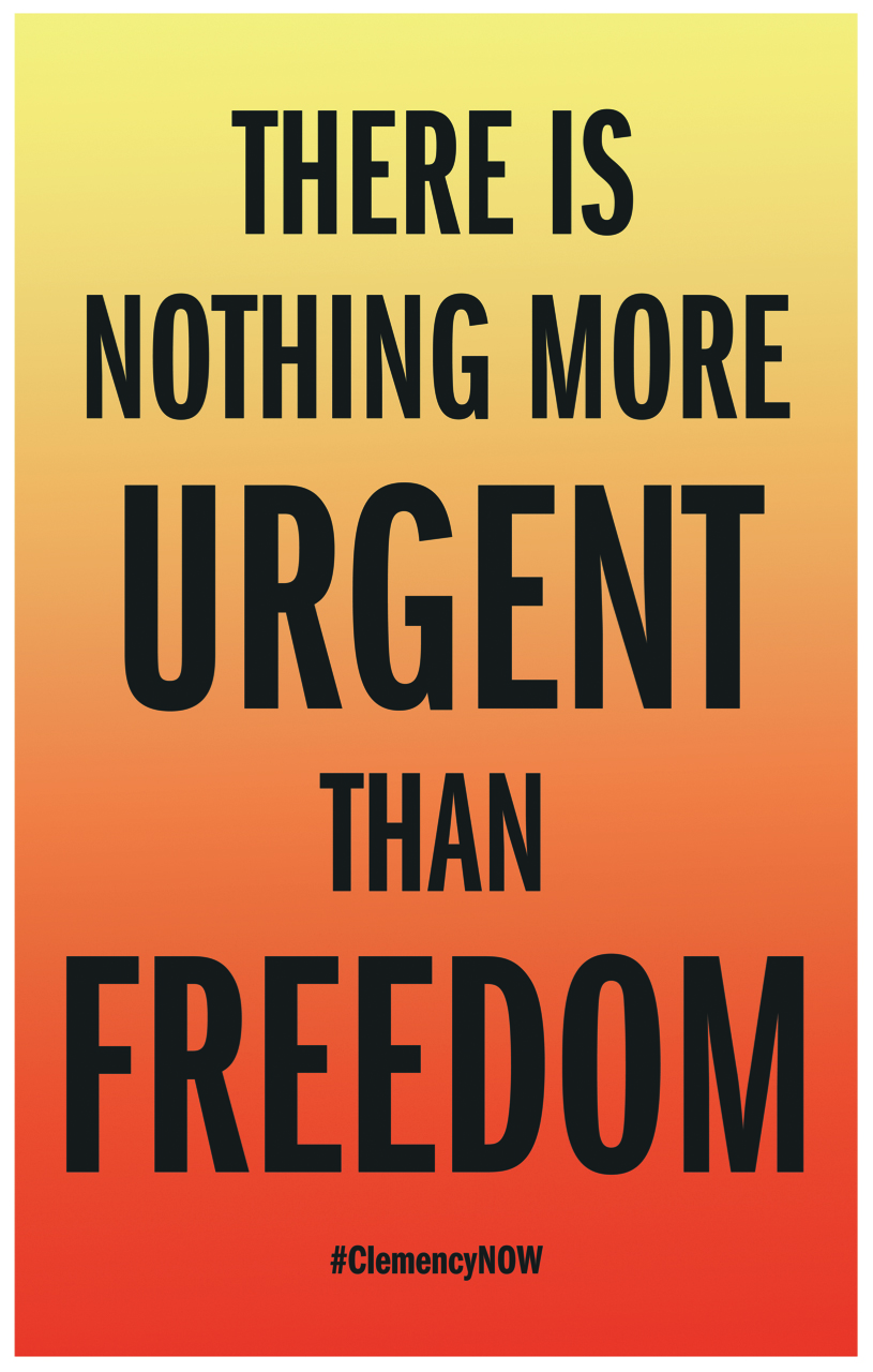 """There is nothing more Urgent than Freedom"""