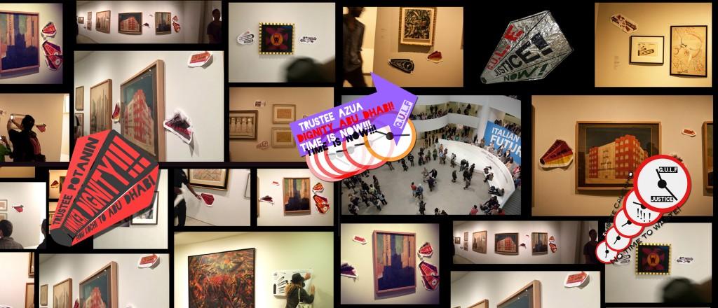 Supplemented Italian Futurist Exhibition