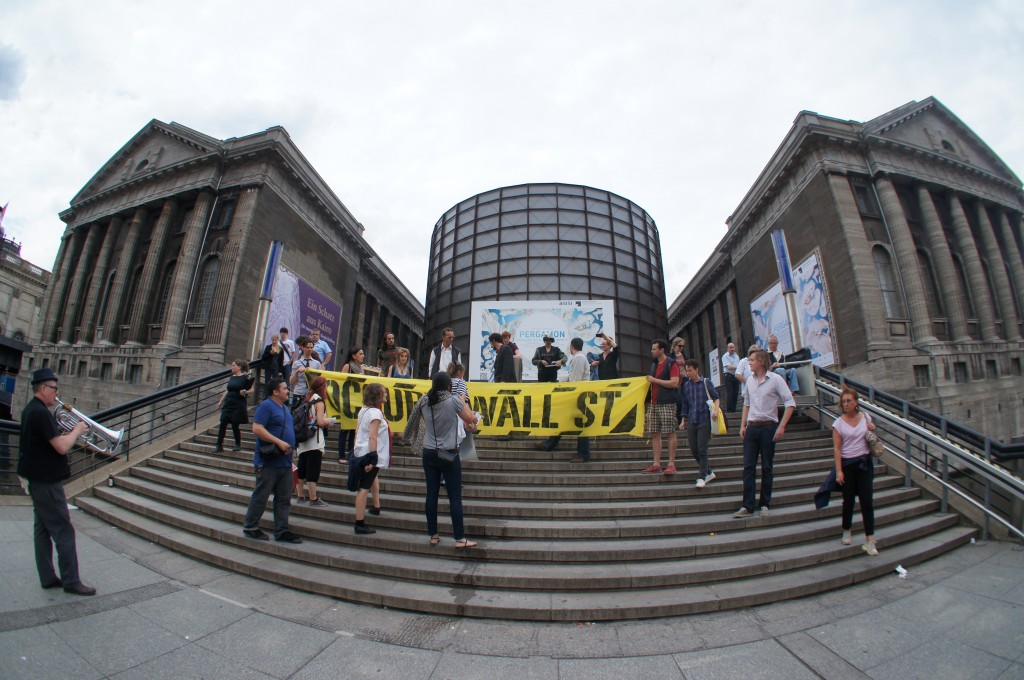 Occupy Pergammon Museum