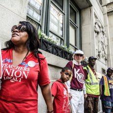 Hands Around City Hall