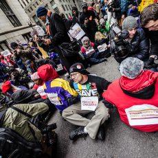School Closure Protest