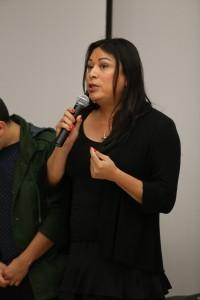 Jennicet Gutierrez of Familia: Queer Trans Liberation Movement.