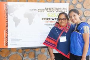 Alicia and Guadalupe Garcia Alvarez from Mujeres Lucha y Derechos Para Todas A.C.