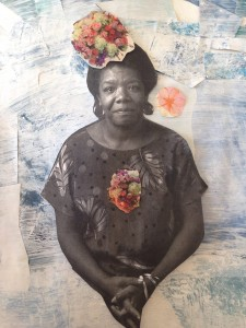 Maya Angelou collage