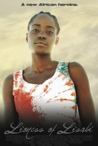 Actress portraying Funmilayo for the Lioness of Lisabi poster.