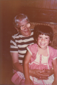 Shayna as a child with Grandma Betty