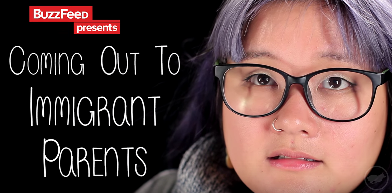 A video title: Coming Out to Immigrant Parents