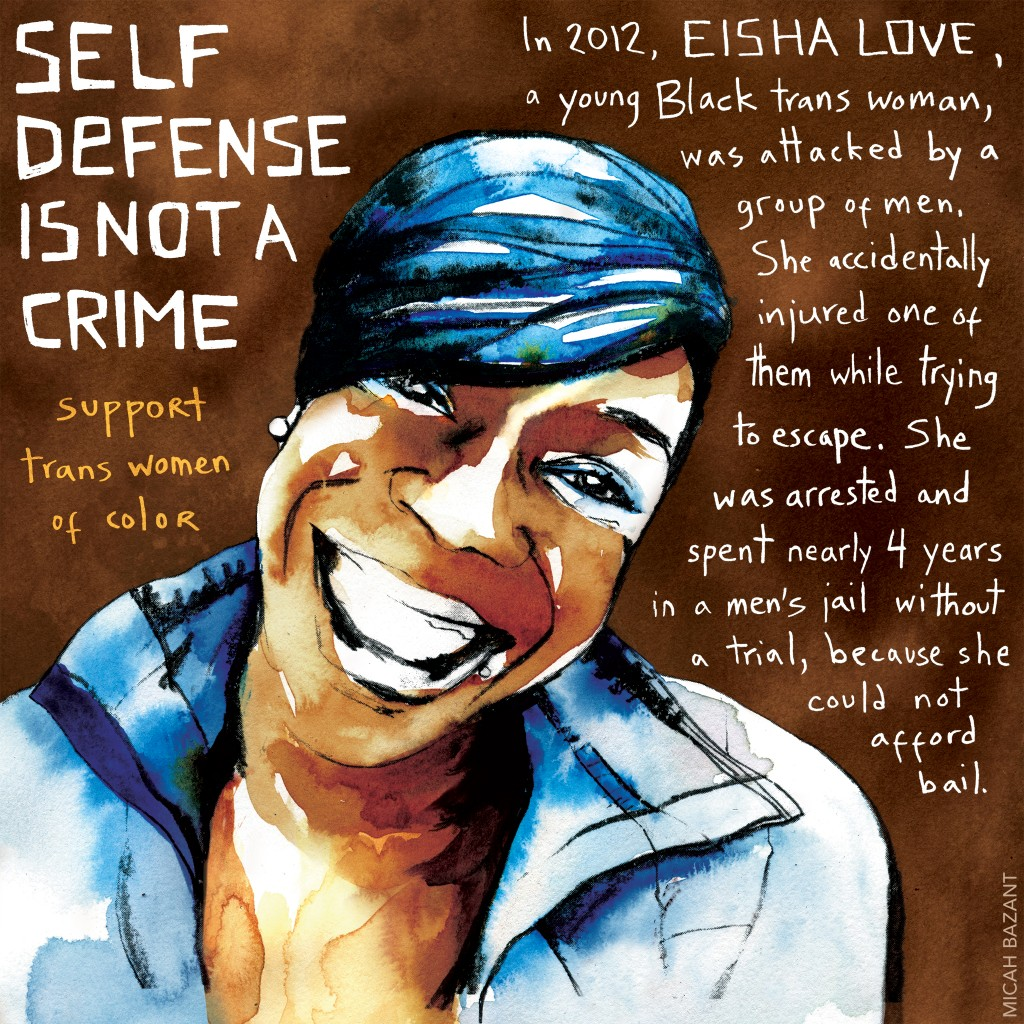 Multi-colored poster of Eisha Love
