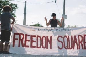 reedom square activism