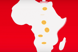 illustrated Africa being drilled into