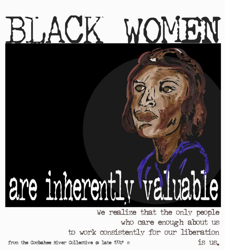 """""""Black women are inherently valuable"""" print"""