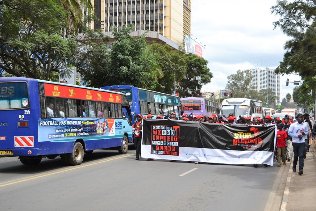 Stop The Bleeding Africa Campaign Launch, Nairobi, Kenya, June 2015