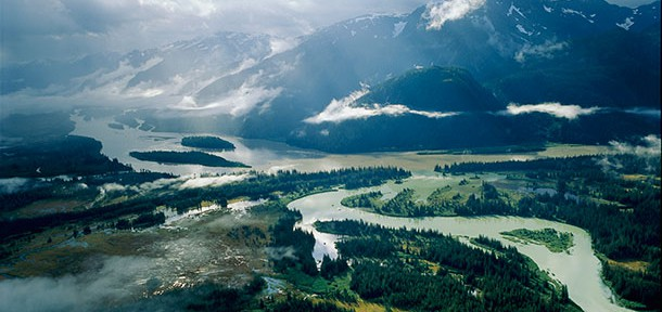 Landscape of Sacred Headwaters, BC