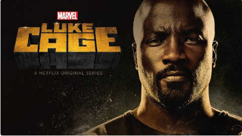 Netflix's Luke Cage promotional art