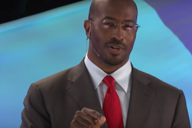 Van Jones speaking at TED Talk