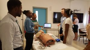 EqualHealth training more than 30 Haitians health care providers in ACLS as well as 7 future ACLS instructors at Hopital Universitaire de Mirebalais