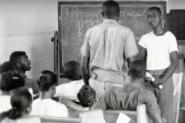 A Freedom School classroom