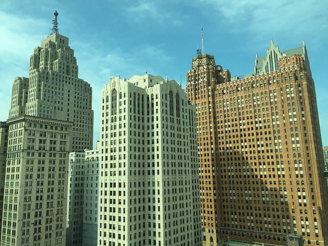 Detroit cityscape