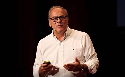 Stefano Vella speaking for Tedx
