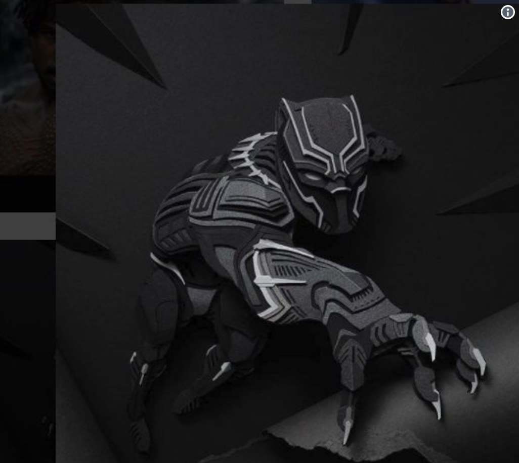 Black Panther (comic) graphic