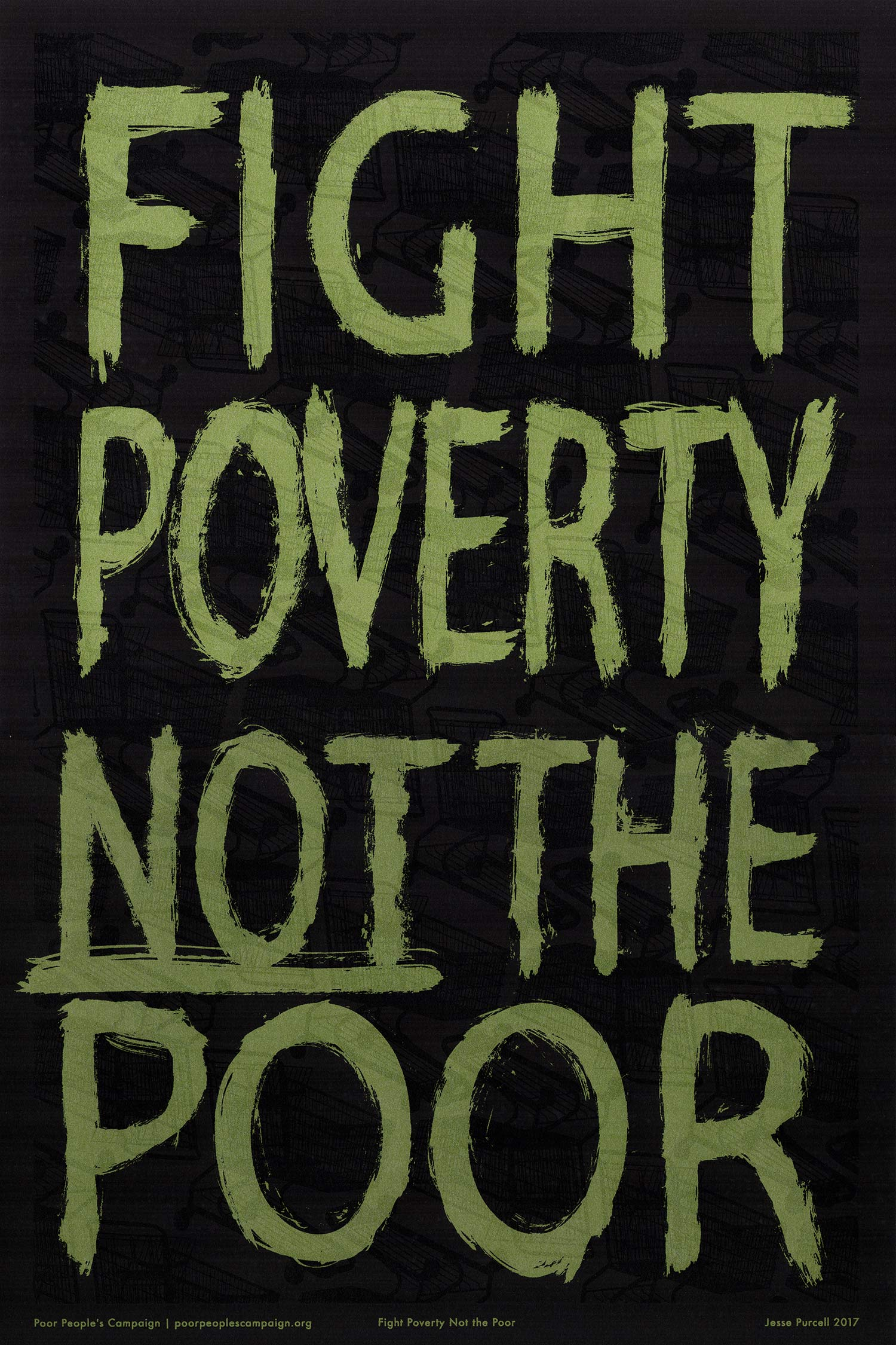 Fight Poverty Not the Poor graphic