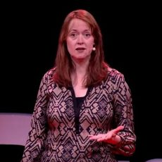 Heather Grabbe speaking at Tedx
