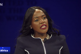 Talk Africa host