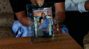 photo of Michael Meza and his mom