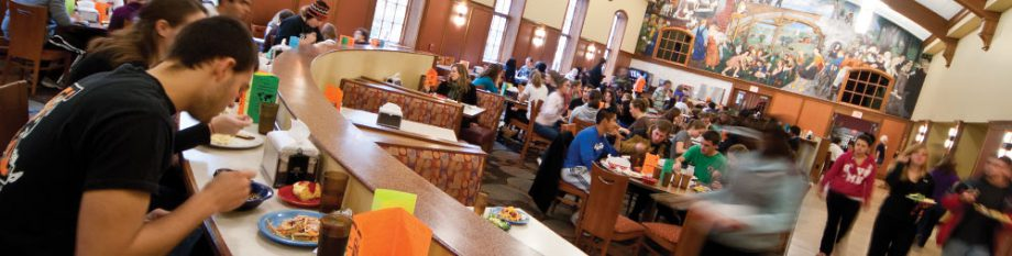 Welles Student Dining Hall