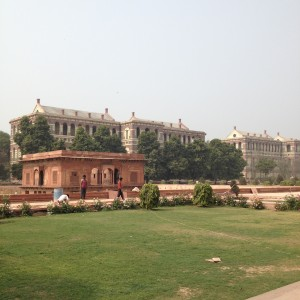 Red Fort, constructed by Shah Jahan in the 1600s