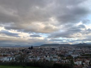 City of Clermont-Ferrand, France from study abroad