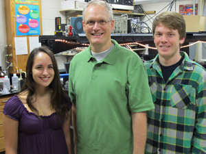 Study co-authors Kelly Usakoski, Jeff Bartz and Nic West.