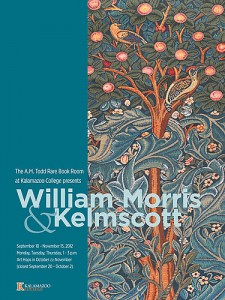 William Morris and Kelmscott event advertisement