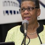 Eileen Wilson Oyeleron speaking