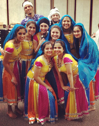 "K-Desi members performed a South Asian dance at ""Mythbusters,"" the 2013 Asiafest"