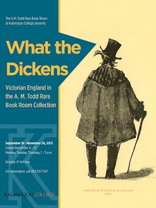 Advertisement for What the Dickens