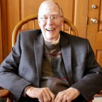 Portrait of Con Hilberry, dean of Kalamazoo area poets