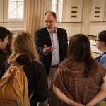 Associate Professor of Religion and History Jeffrey Haus directs K''s Jewish Studies Program.