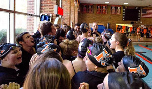 Kalamazoo College men's and women's swimming and diving teams