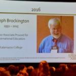 Joe Brockington 2016 Forum on Education Abroad award presentation