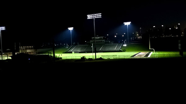 College Football Lights