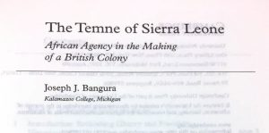 Title page of book on Sierra Leone