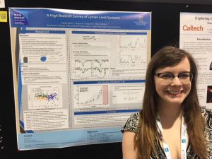 Hayley Beltz Presents at Astronomers Meeting