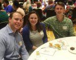 Champs Award recipients at banquet dinner