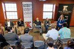 Five people leading a discussion in a Career Summit 2019 Preview