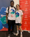 Jared Pittman and Amanda Moss at NCAA Convention