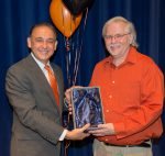 Lux Esto Award Winner Don Mack with Jorge Gonzalez at Founders Day