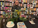 Faculty members celebrate book launch and film honor