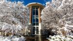 Upjohn Library Commons in Winter for Top Liberal Arts Institutions